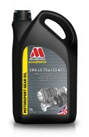 Millers CRX LS 75W140 NT+ Heavy Duty Competition Fully Synthetic Limited Slip Transmission Oil - 5 Litres
